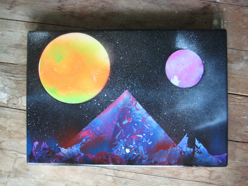 Canvas Painting Space